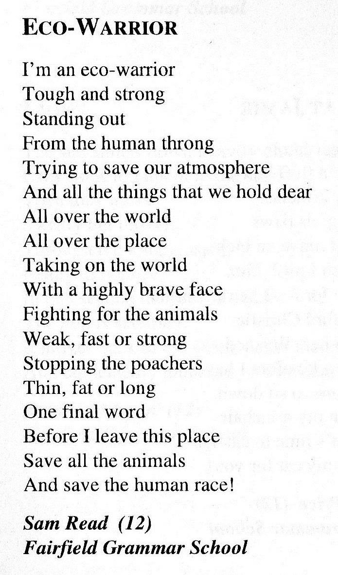 Poetry | Sam Read Writes